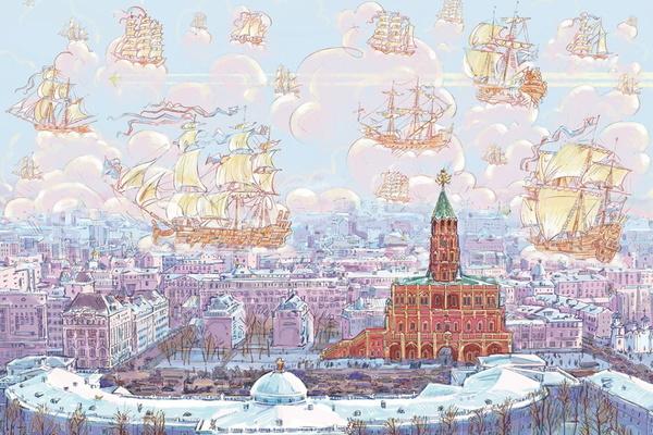 """Презентация книги об отечественной истории """"Сухарева башня"""""""