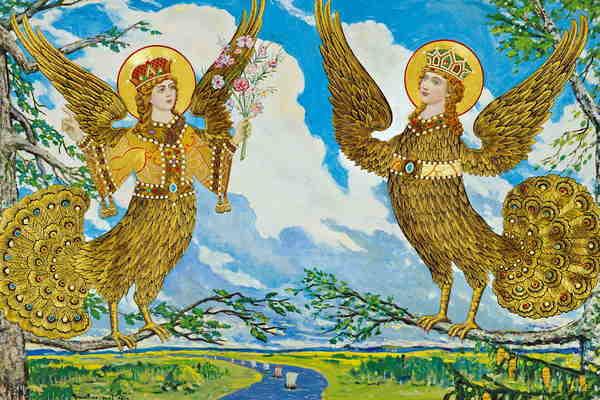 Путешествие за птицей Сирин