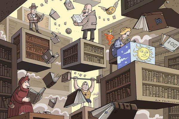 Место действия – библиотека!