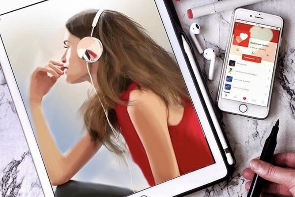 Скетчинг на iPad