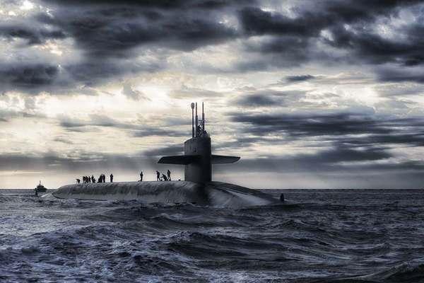 Квест на подводной лодке Музея ВМФ