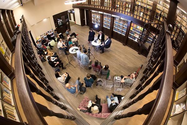 Онлайн-встреча с издательским домом «Книжники»