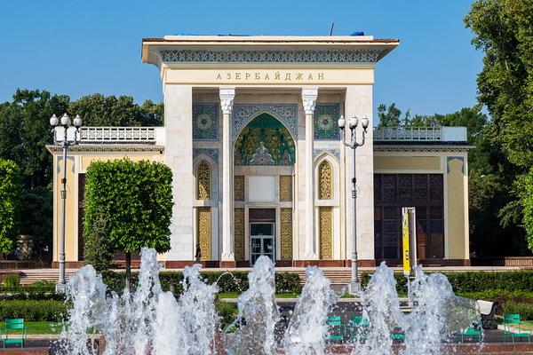 Павильон № 14. Выставочно-торговый центр Азербайджанской Республики