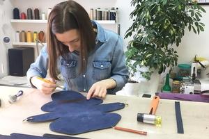 Мастер-класс по изготовлению кожаных изделий