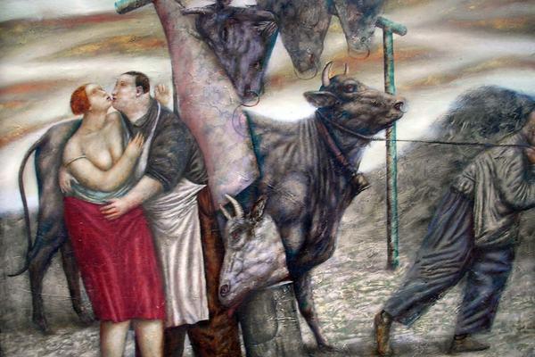 Картины-загадки художника Шуры Петрова