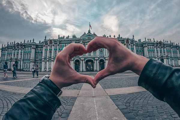 В самом сердце Санкт-Петербурга