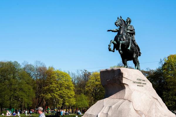 Петр I. Основание Петербурга