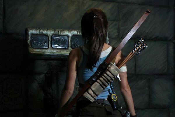Lara Croft. Храм надписей