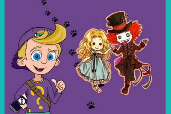 Алиса и Шляпник в поисках волшебных часов
