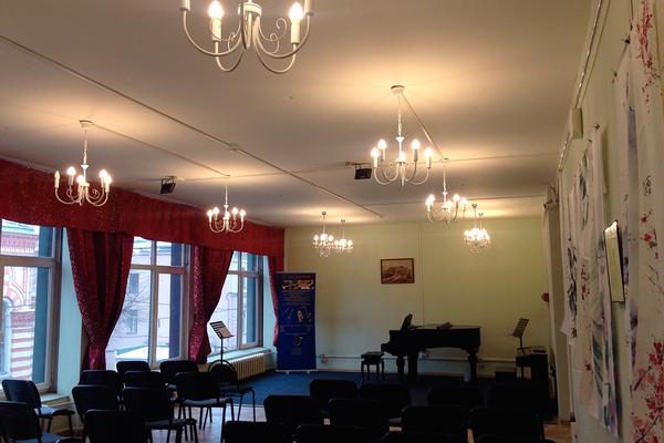 Концертный зал духовой академии Воронцова