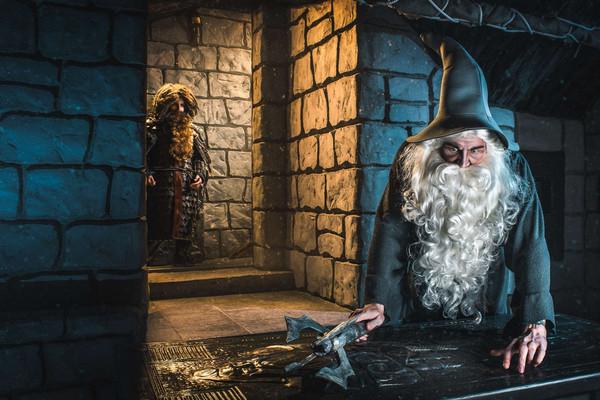 Фродо: приключения под горой
