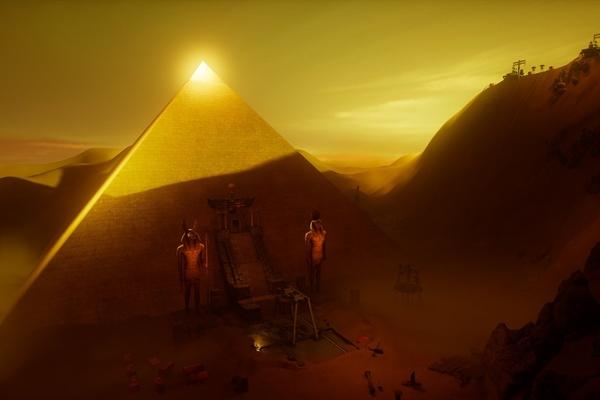 Мистическая пирамида