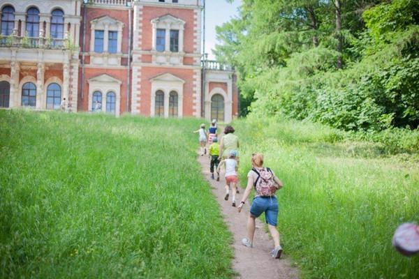 Путешествие в Воронцовском парке