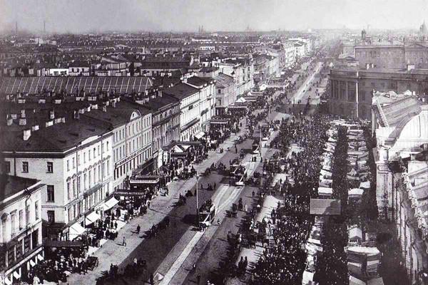 Контрасты дореволюционного Петрограда