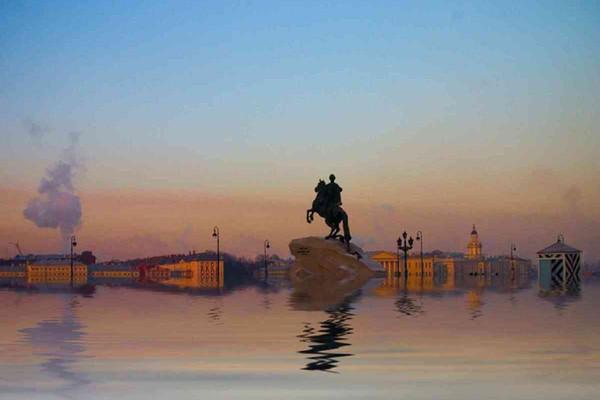 1824. Потопленный Петроград