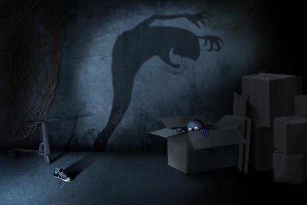 Прятки в темноте. Kids