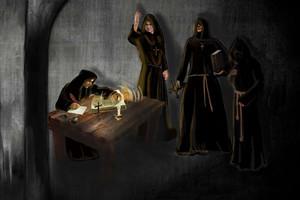 Убийство в монастыре