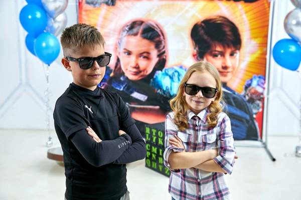 Дети шпионов. Kids