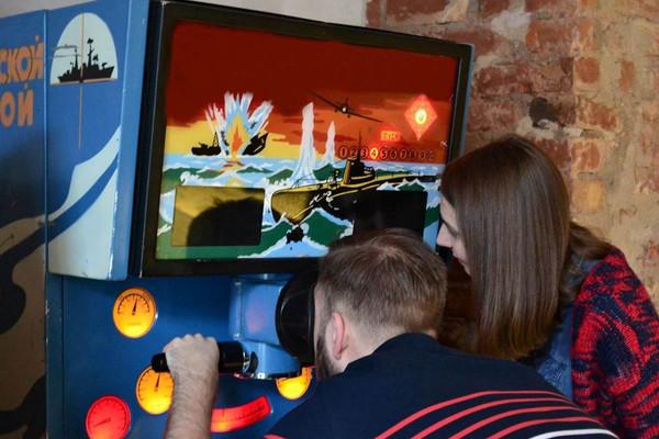 """""""Похищенная принцесса"""" в Музее игровых автоматов"""