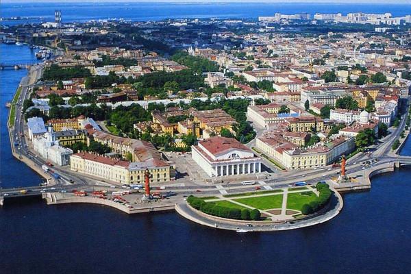 Исторический остров Васильевский