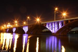 Домино на мосту