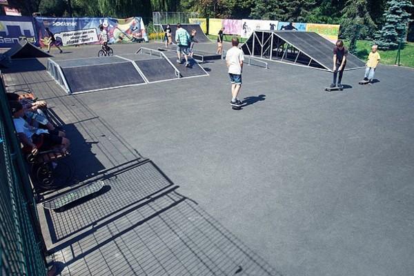 Скейт-парк на Нивках