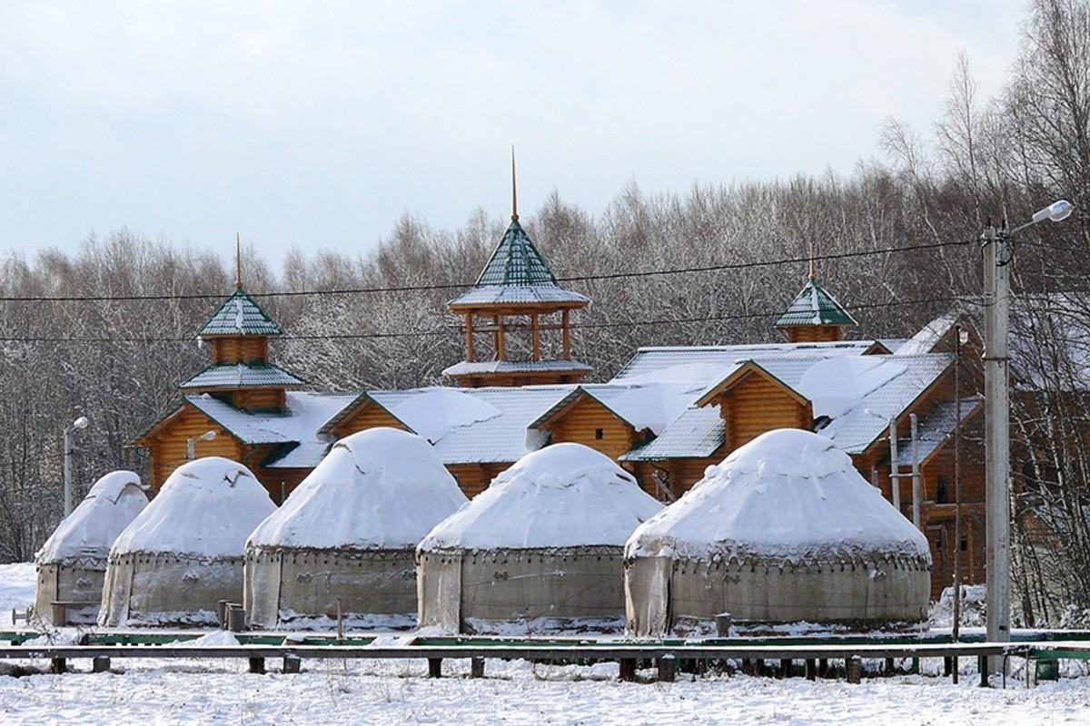 Этномир калужская область фото зимой