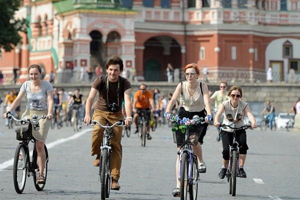 Велоэкскурсия Музеона по Москве