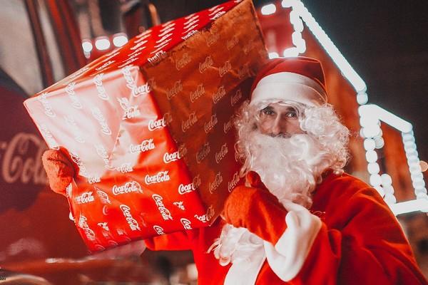 Стоянка «Рождественского карвана»