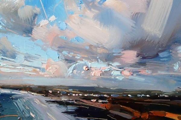 Мастер-класс по живописи маслом «Морской пейзаж»