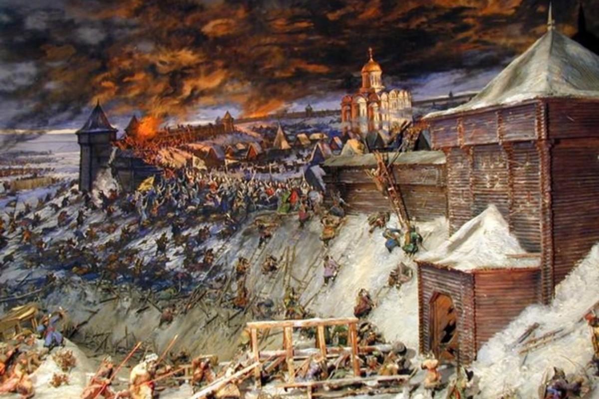 иллюстрации к монгольскому нашествию на русь сочи карте