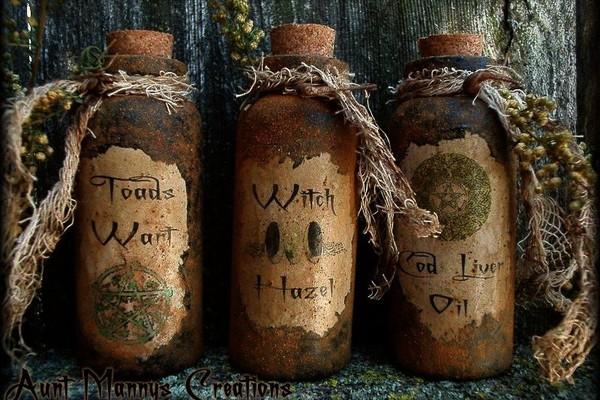 Ритуалы «Ведьмина бутылка»