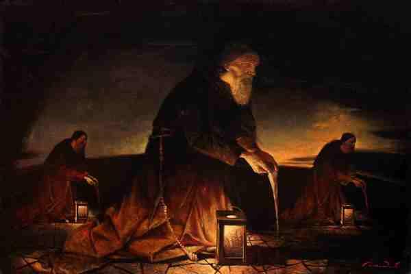 живописи и графики Ивана Покидышева «Тень и свет»