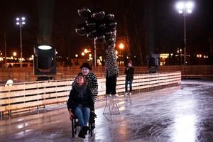 Каток «Восход» в Парке Горького