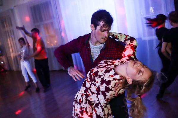 Мастер-класс по парному танцу хастл