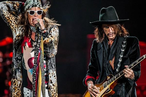 Большой концерт с Aerosmith на Лубянской площади