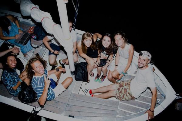 OpenArtFest на корабле Брюсов