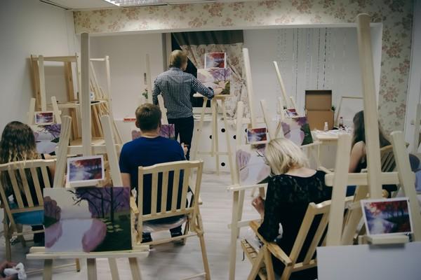 Мастер классы по живописи