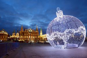 «Огни новогодней Москвы». Автобусная экскурсия