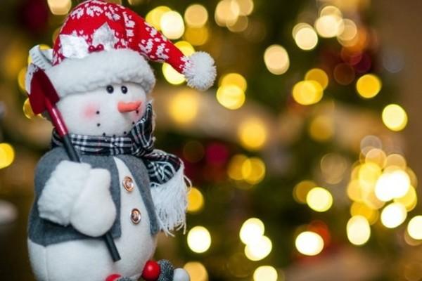 Снеговики на Флаконе