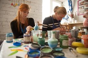 Роспись и декорирование керамики