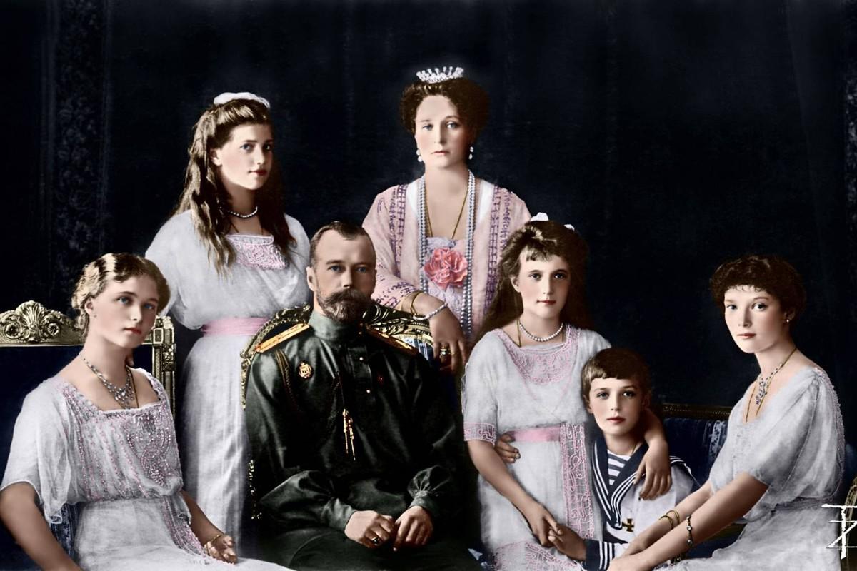 для нежно-лиловых все фотографии царской семьи романовых семейству зонтичных