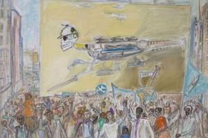 Отзвуки Хиросимы. Выставка Александра Лабаса в Музее Востока