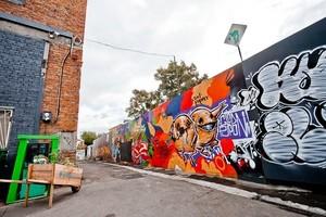 Граффити на Флаконе