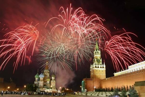 Новый Год на Красной площади 2017