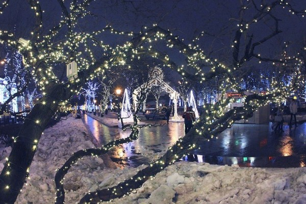 Новый год в парке «Красная пресня»