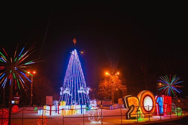 Новогодняя ночь в парке «Сокольники»