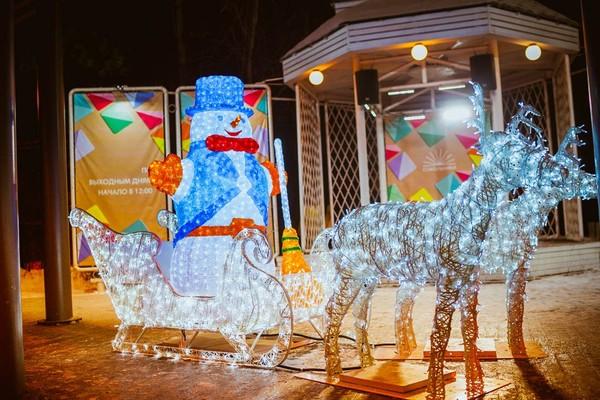 Рождество в парке «Сокольники»
