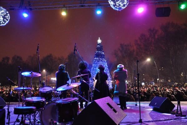 Рождество в парке «Кузьминки»