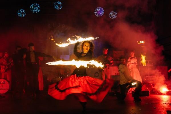 Театральное Рождество в парке «Садовники»